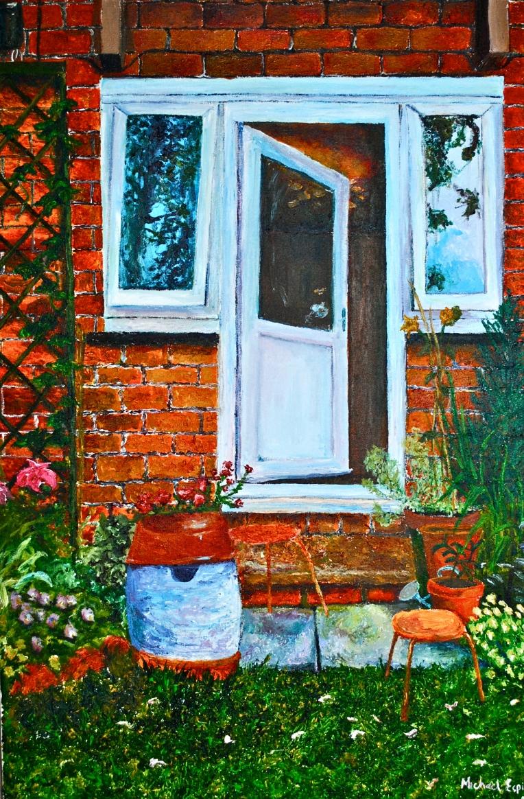 Mikey Espinosa - The garden door