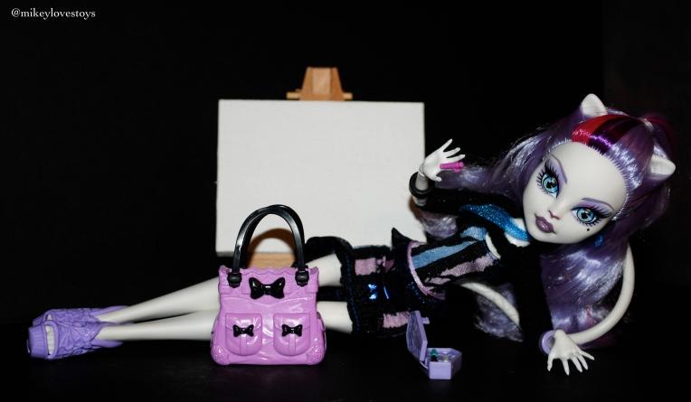 mikeylovestoys - Cat demew avec l'art canvas