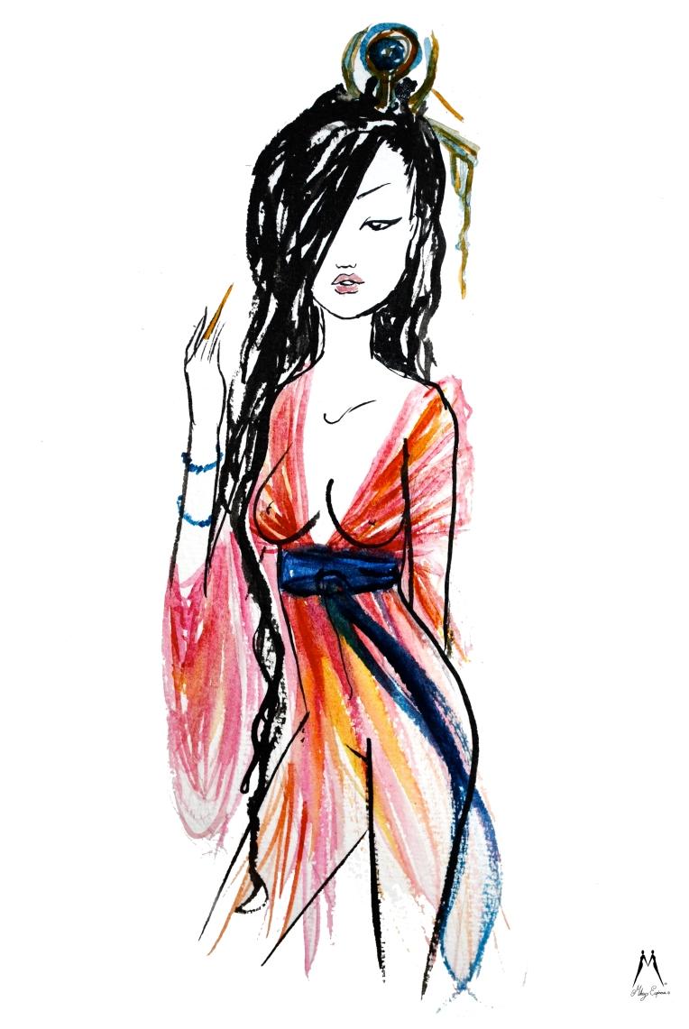 Mikey Espinosa - DiaoChan - 4 beauties of China
