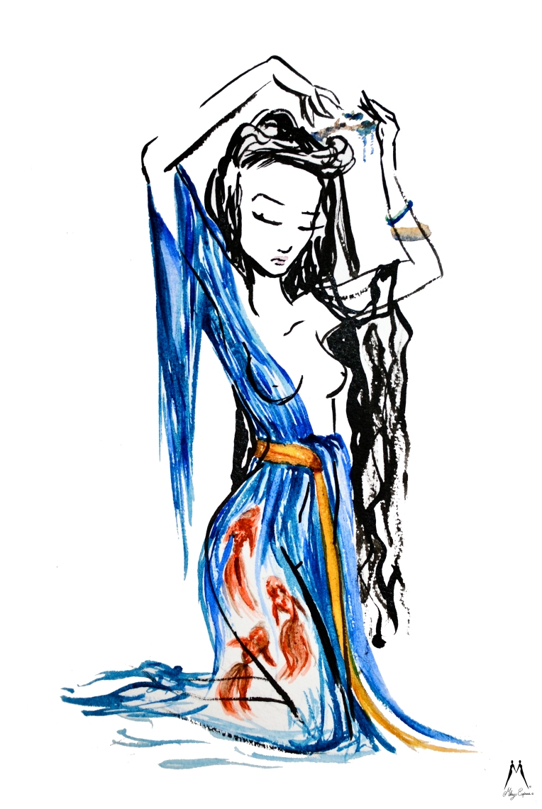 Mikey Espinosa - Lady Xishi - 4 beauties of China