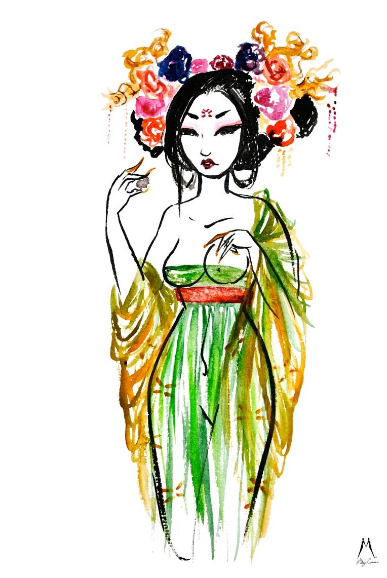 Mikey Espinosa - Yang Guifei - 4 beauties of China