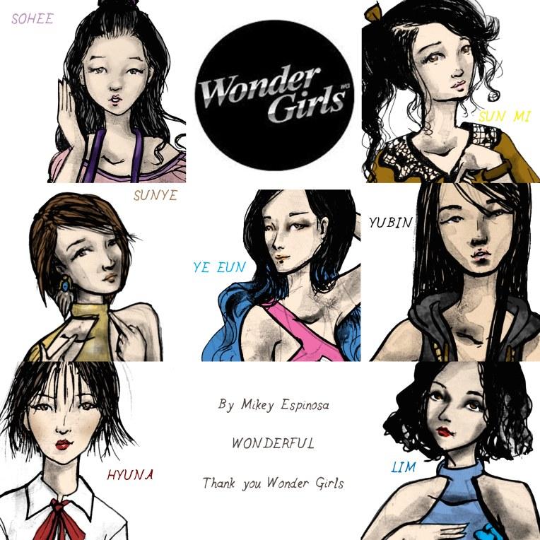 Mikey Espinosa - Wonder girls teaser
