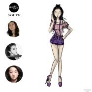 Mikey Espinosa - WonderGirls instagram post - Sohee