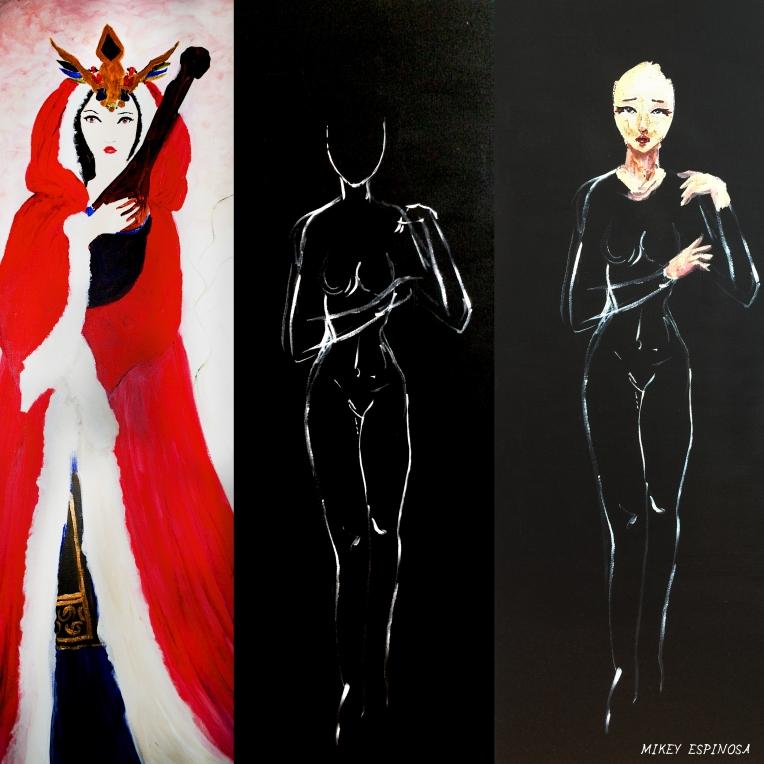Mikey Espinosa - Beauties of China repaint 2016 - WangZhaoJun progress