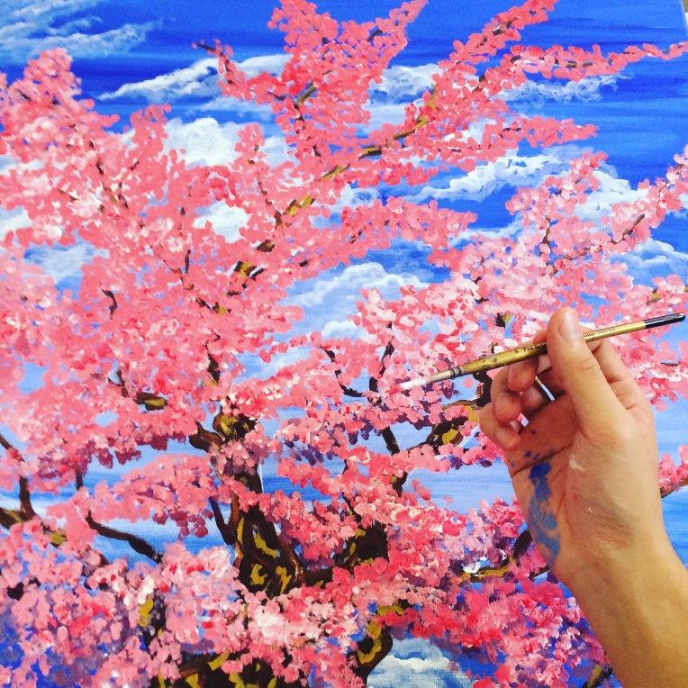Mikey Espinosa - Cherry Blossom 18.10.2016 raw 5