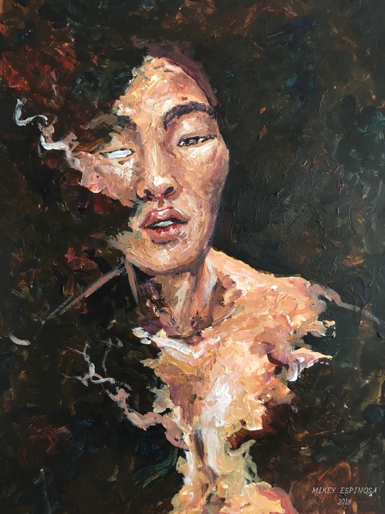 Mikey Espinosa - Justin painting 1