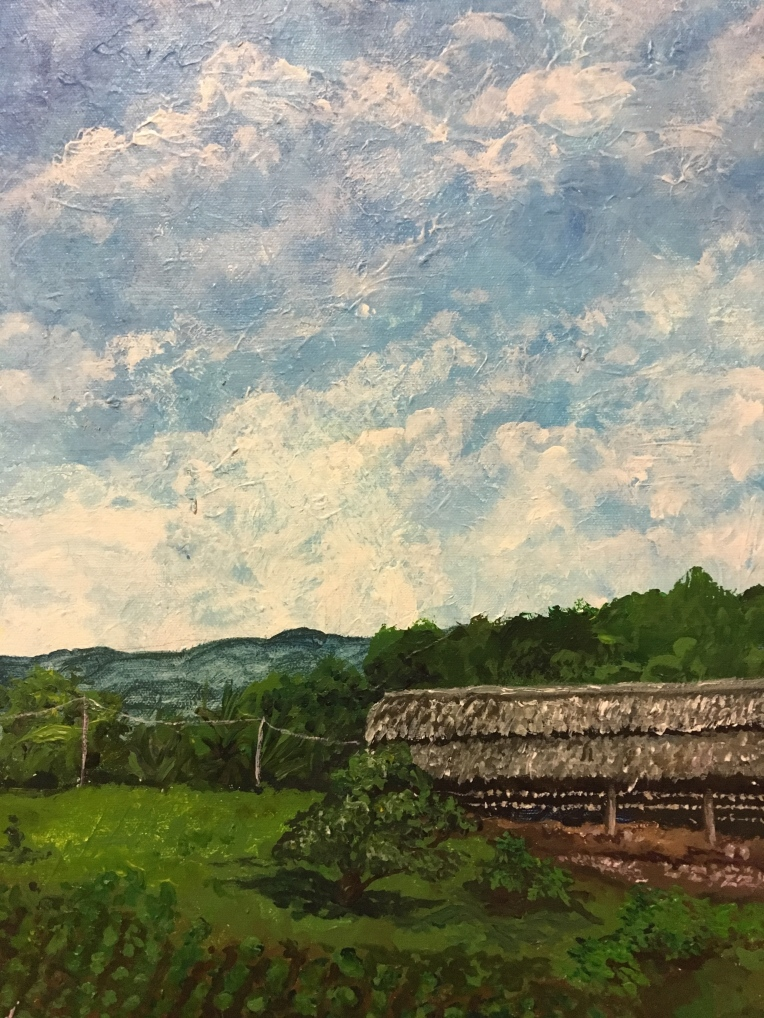 RAW Mikey Espinosa October 2018 - Tita Mirabelle and Tito Jacks farm painting IMG_6913