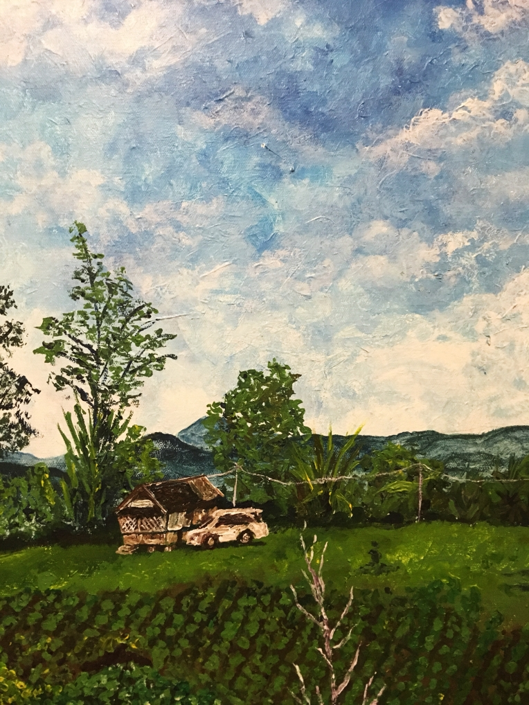 RAW Mikey Espinosa October 2018 - Tita Mirabelle and Tito Jacks farm painting IMG_6916